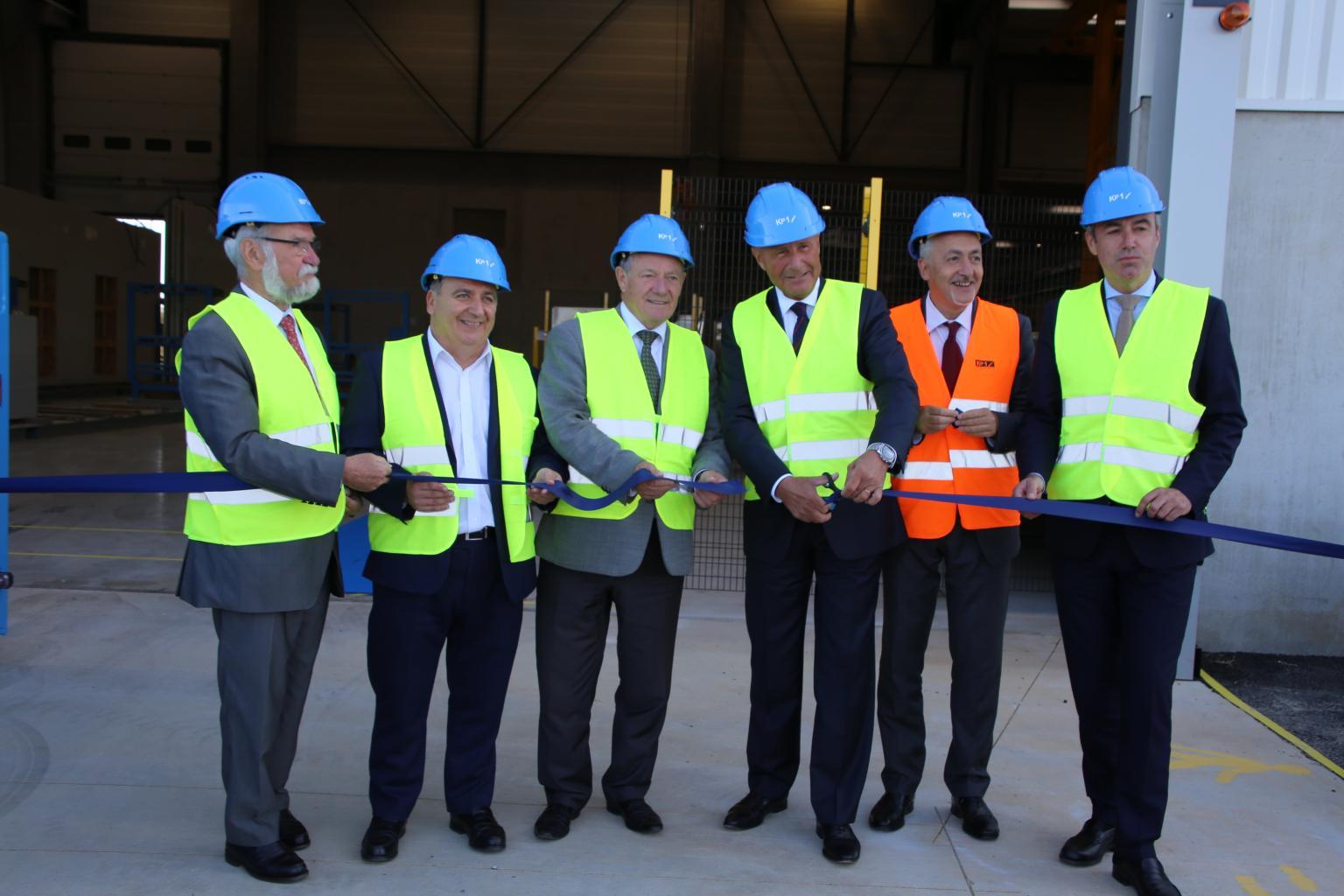 KP1 inaugure sa nouvelle usine de prémurs à Vernouillet