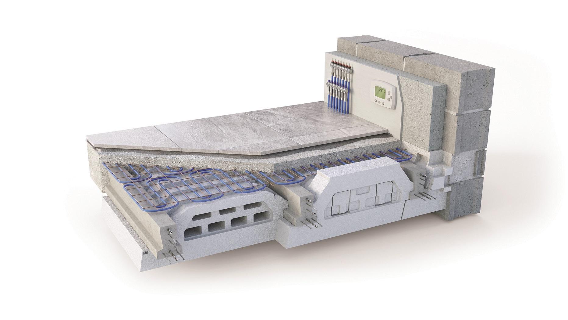 Visuel 3D Plancher Milliwatt Chauffant KP1